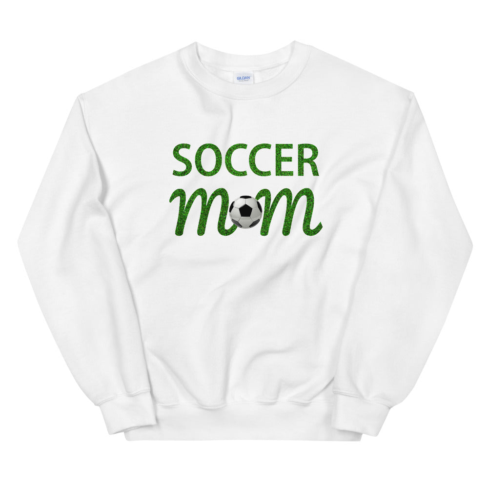 Soccer Mom Meme Crewneck Sweatshirt for Mother