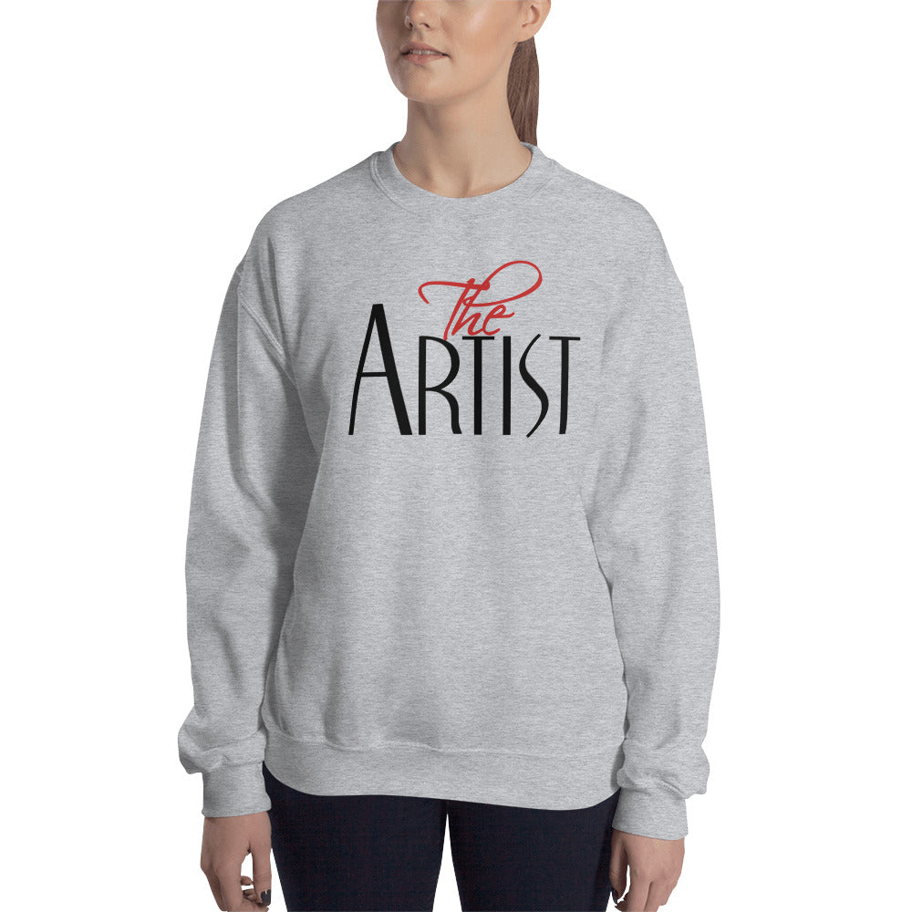 Artist Sweatshirt | Meet the Artist Crewneck for Women