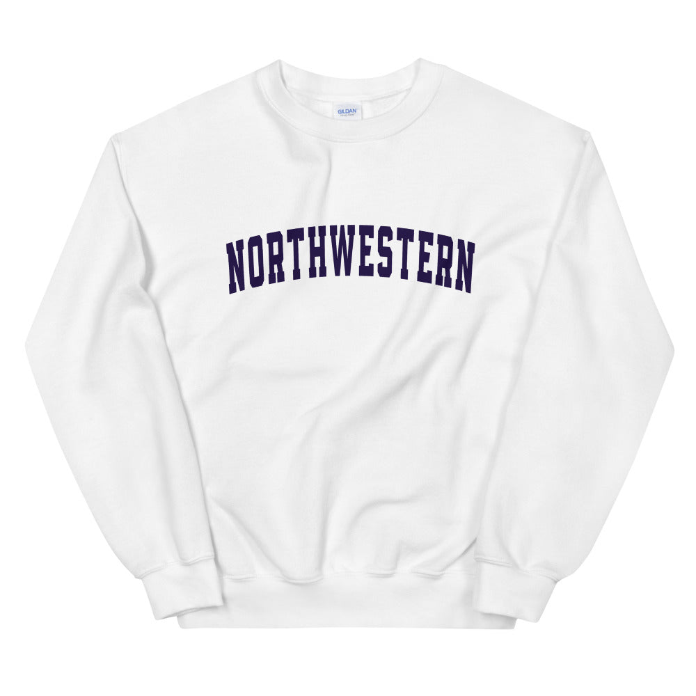 NorthWestern Crewneck Sweatshirt for Women