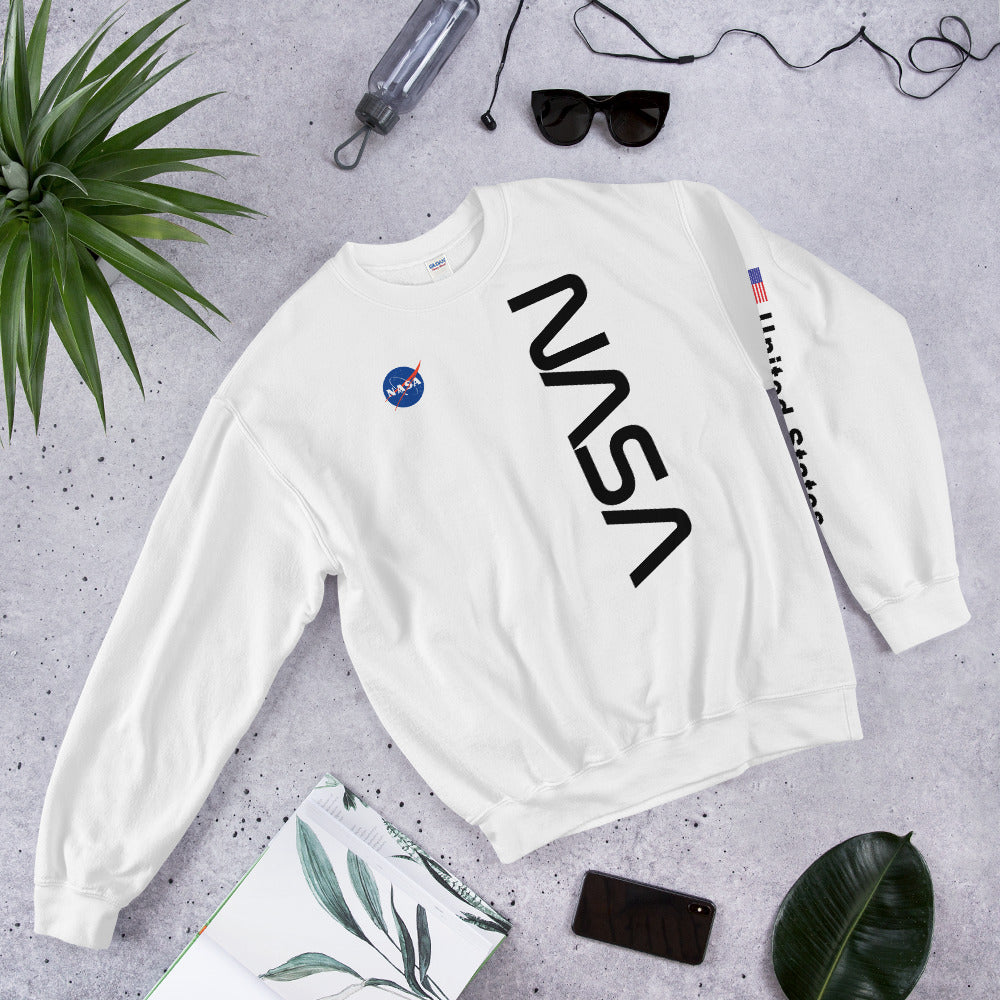 Nasa United States Crewneck Sweatshirt for Women