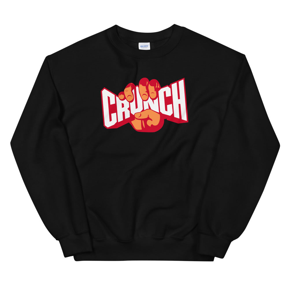 Crunch Sweatshirt | Fitness Crunches Crewneck for Women