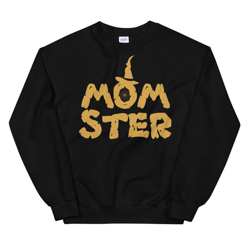 Momster Halloween Crewneck Sweatshirt for Mom