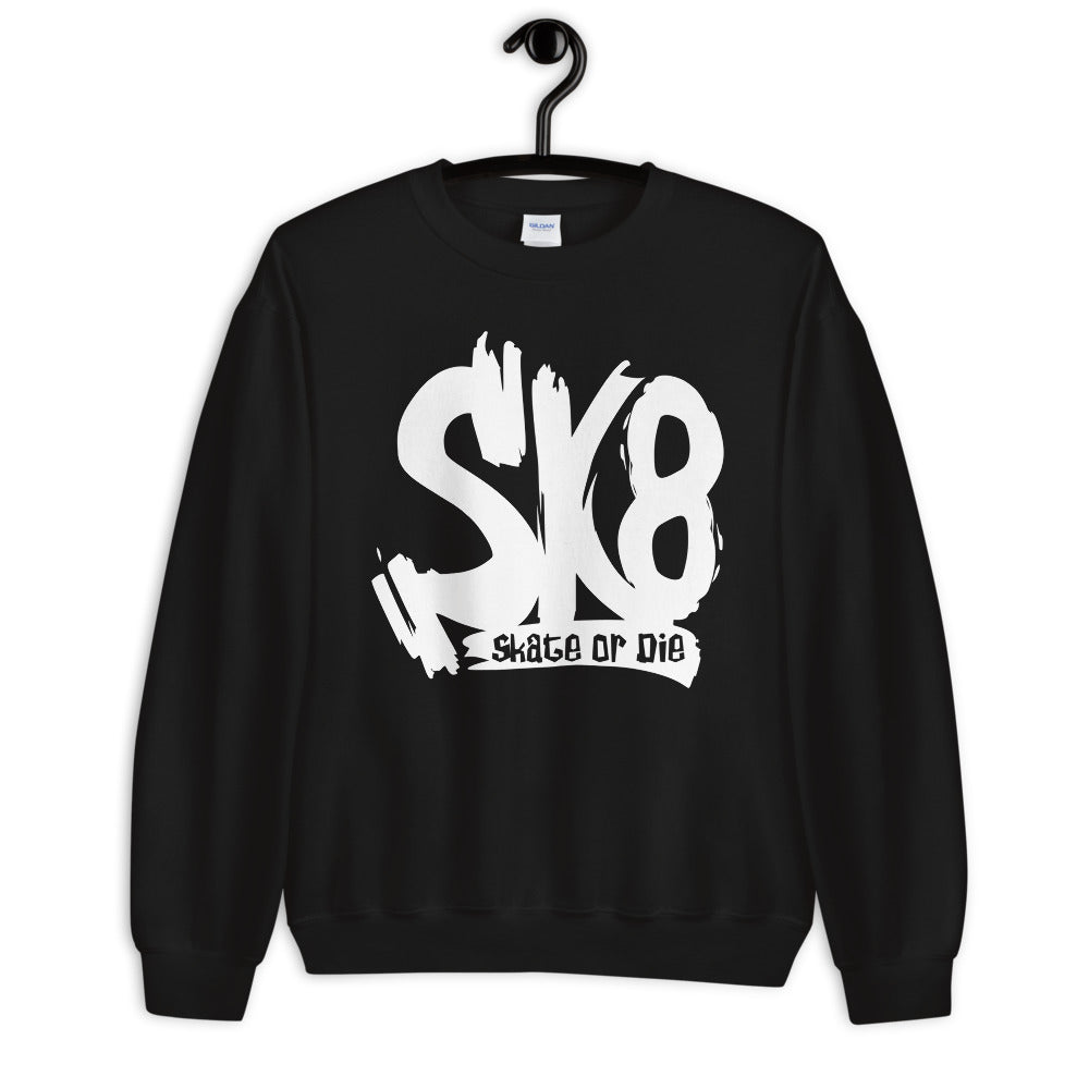 Sk8 Skate or Die Crewneck Sweatshirt for Women