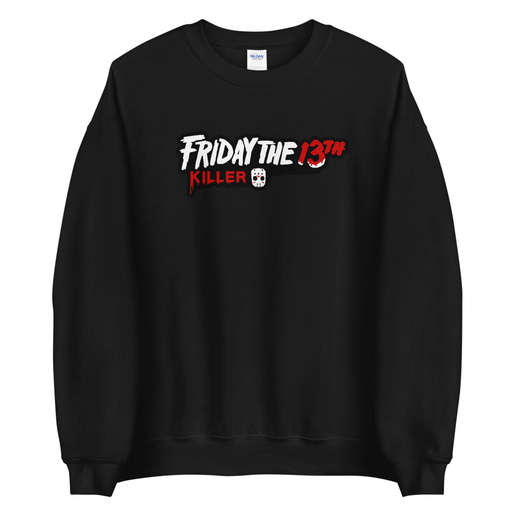 Friday The 13th Jason Voorhees Halloween Crewneck Sweatshirt