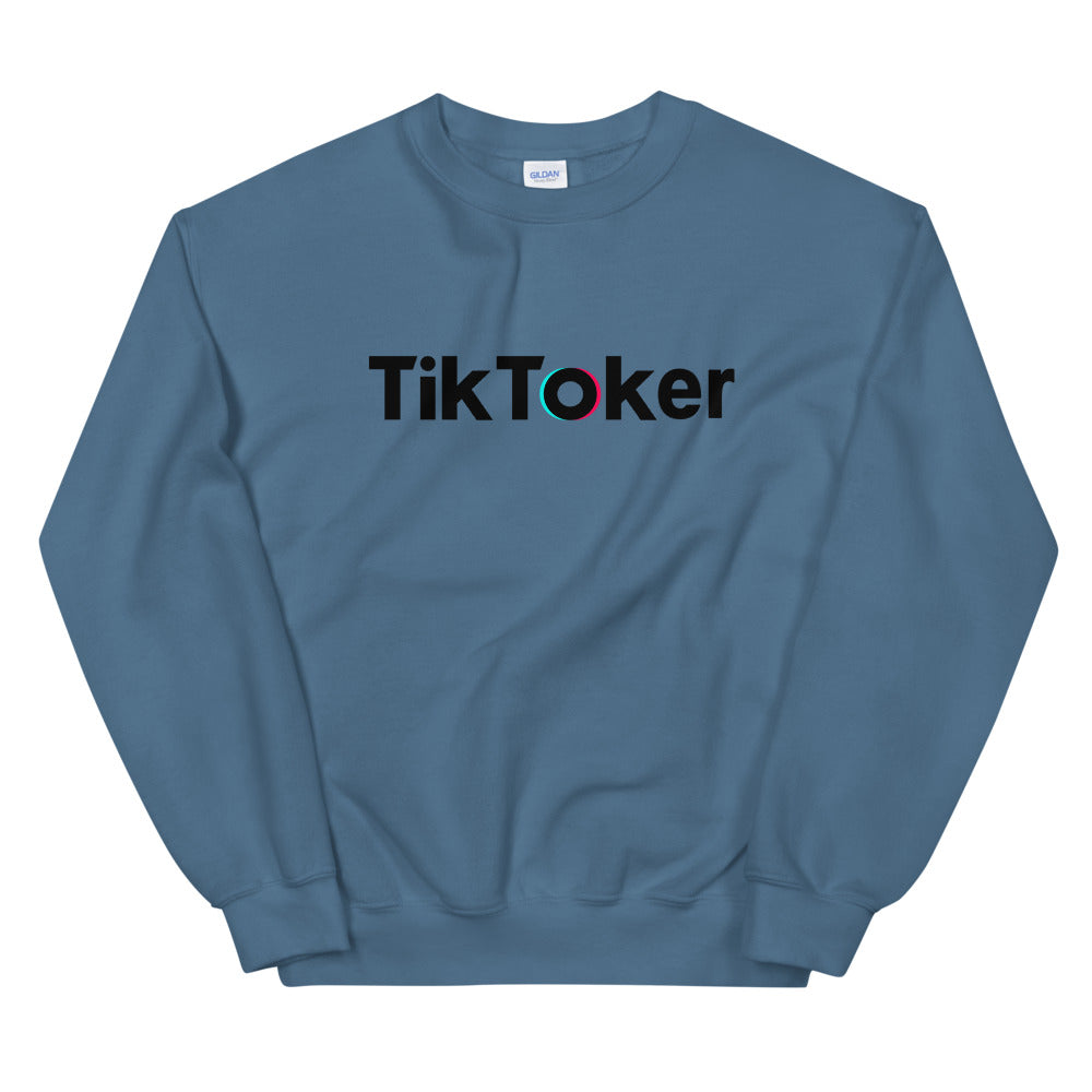 TikToker Sweatshirt | Social Content Producer Tik Tok Crewneck for Women
