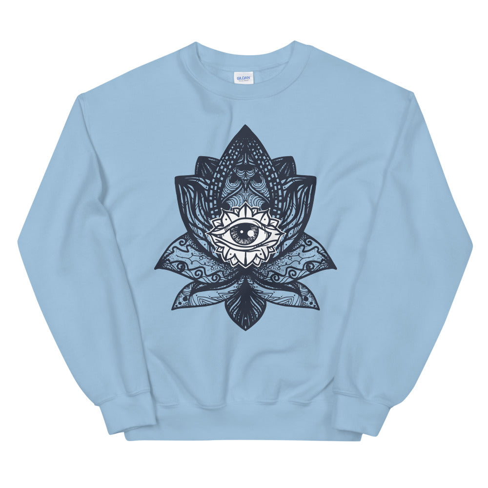 Black Lotus Magic Crewneck Sweatshirt for Women