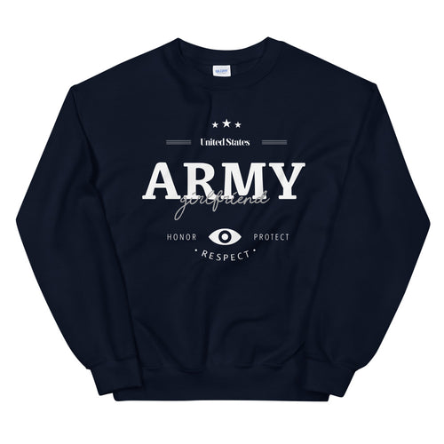 Army Sweatshirt | US Army Girlfriend Crew Neck For Women
