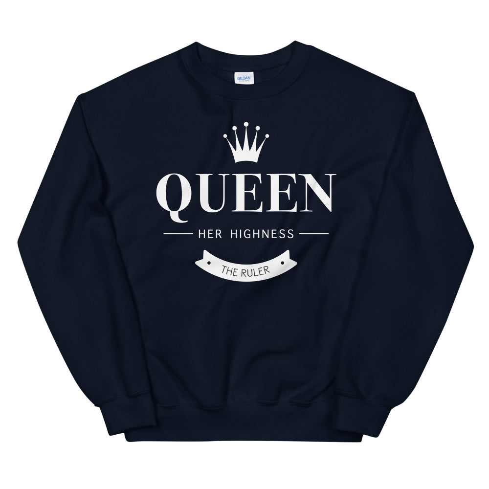 The Queen Crew Neck Sweatshirt for Women