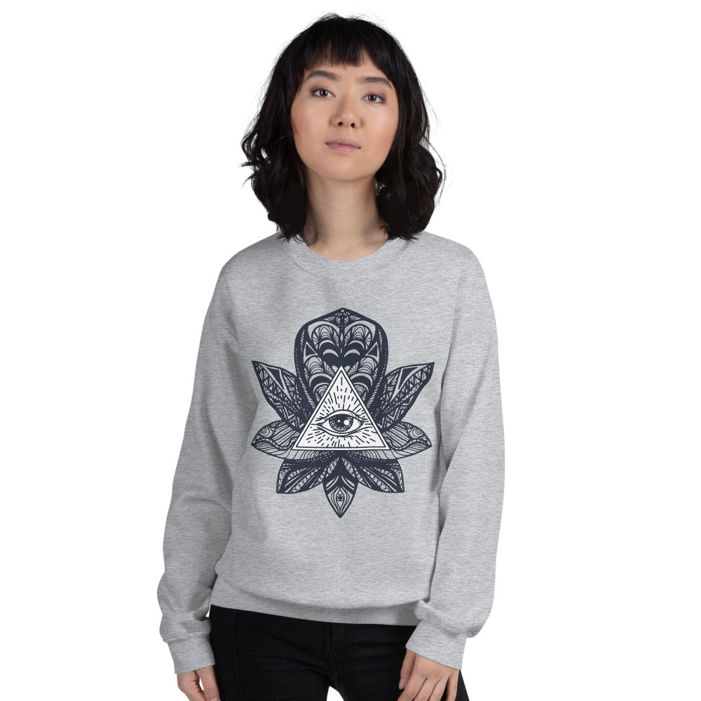 Eye of Providence Crewneck Sweatshirt for Women