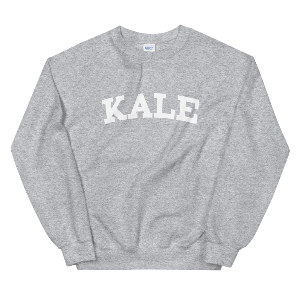 Beyonce Kale Sweatshirt | One Word Kale Crew Neck for Women