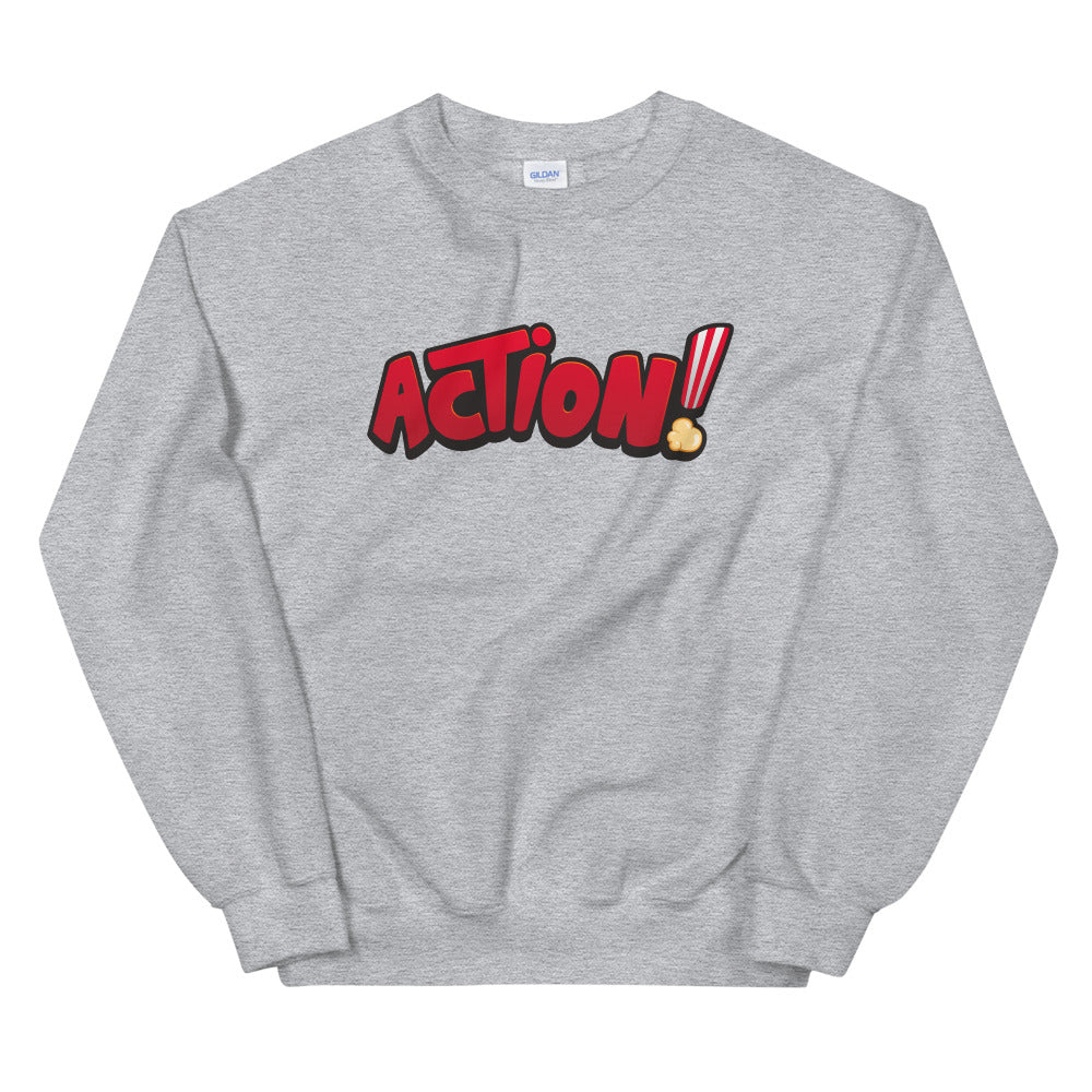 Action Sweatshirt | Get Motivated and Take Action Crewneck for Women