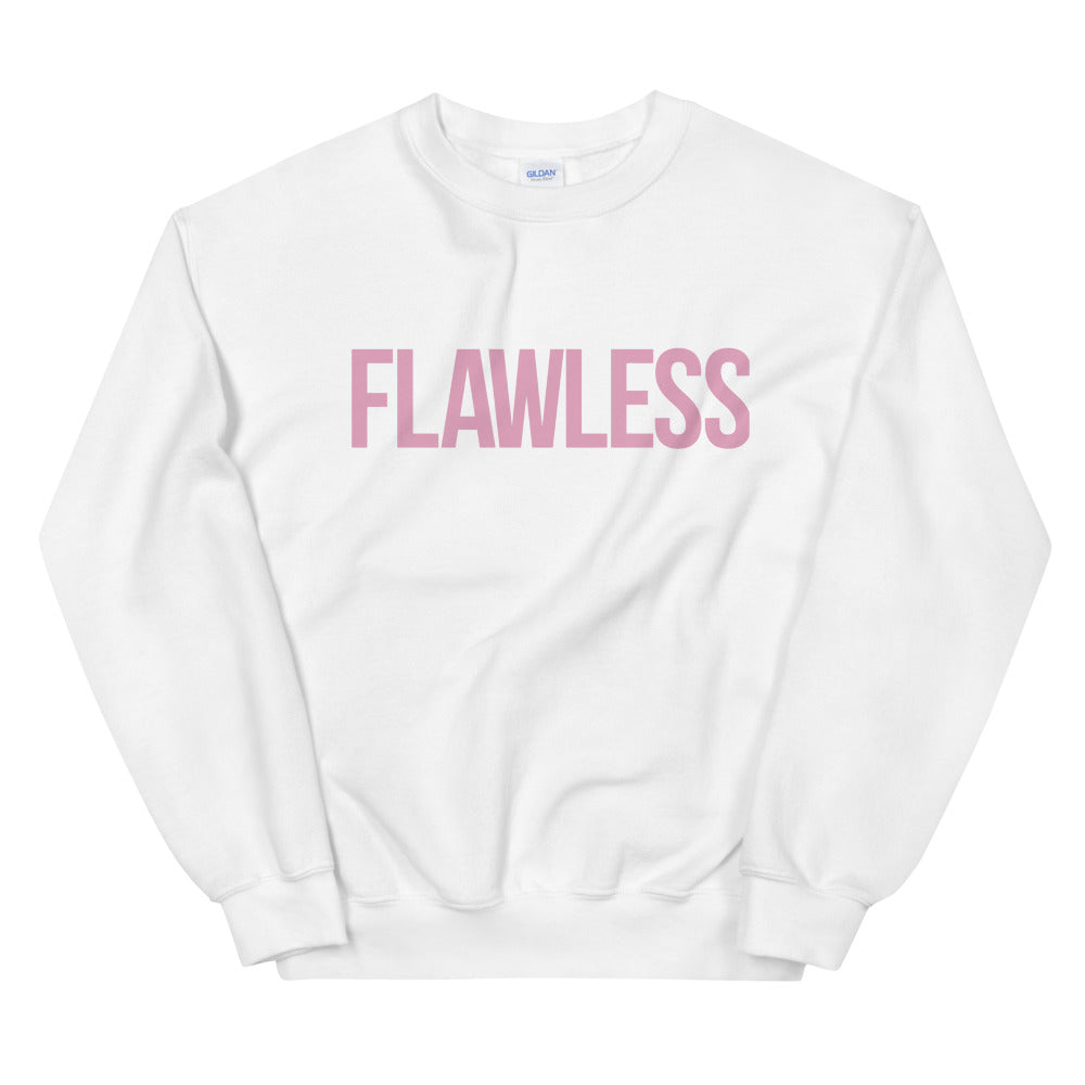 Beyonce Flawless Sweatshirt | One Word Flawless Crewneck for Women