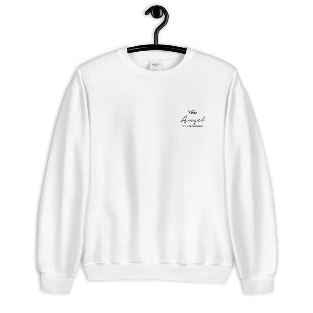 Angel Sweatshirt | Personalized Name Embroidered Pullover Crewneck