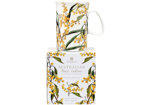 Aus Floral Emblems Wattle Can Mug