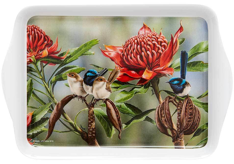 Aus Bird & Flora Blue Wren Scatter Tray