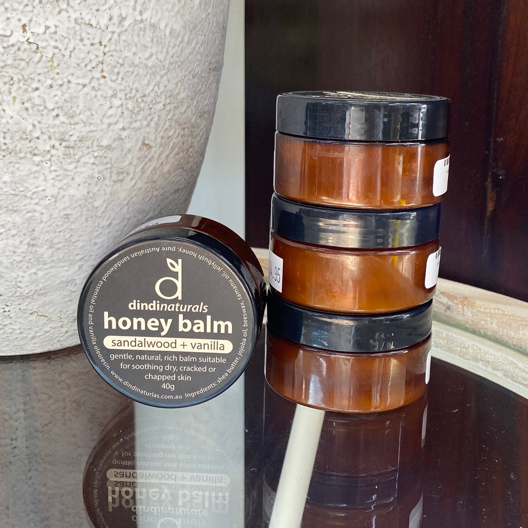 Honey Balm Sandalwood 40g