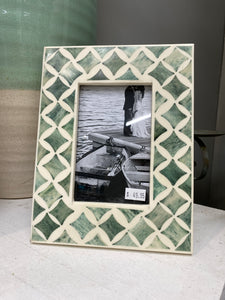 Tucson Bone Inlay Photo Frame 4x6""