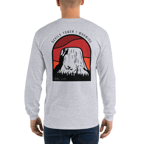 Devils Tower Long Sleeve Shirt - Crag Life