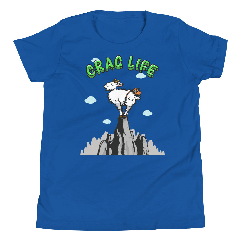 Mountain Goat Youth tee - Crag Life