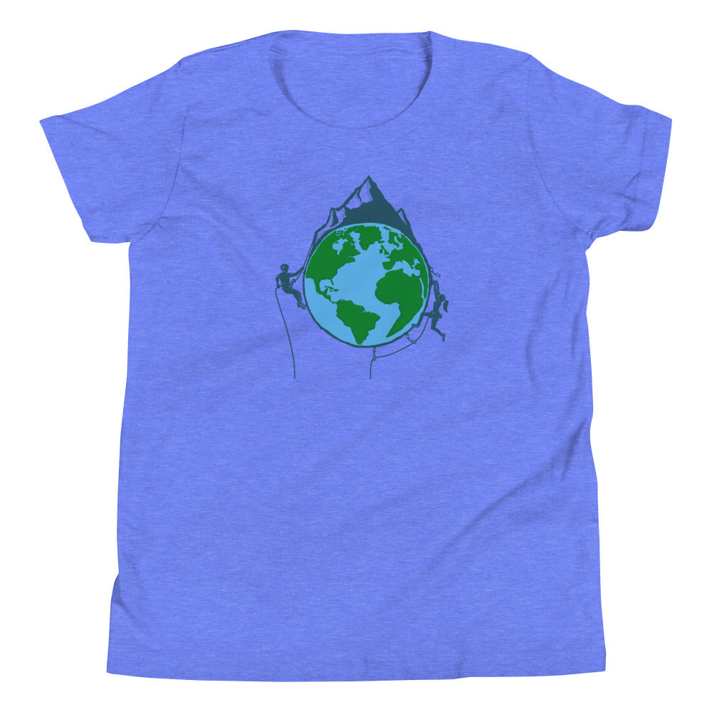 The World is Your Crag Kids Tee - Crag Life