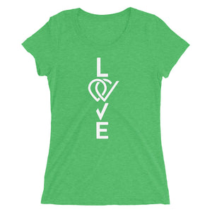 Love, Women's short sleeve t-shirt - Crag Life