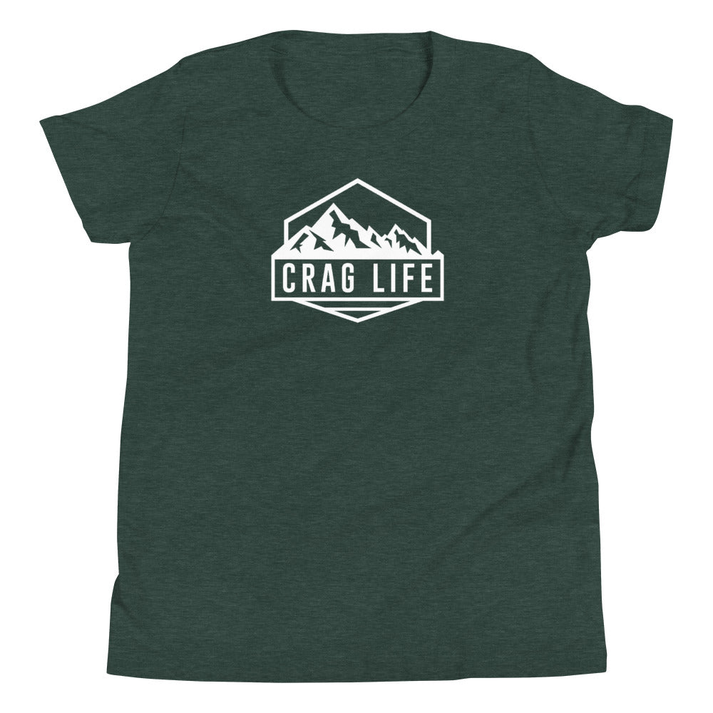 Youth Crag Life Signature T-Shirt - Crag Life