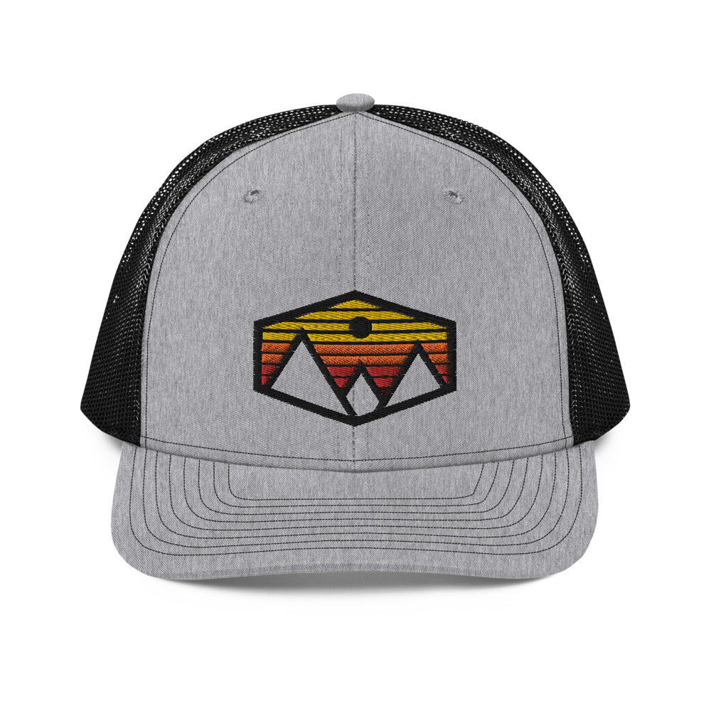 Mountain Sunset Trucker Hat - Crag Life