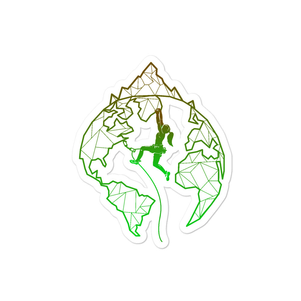 Climbing World Sticker - Crag Life