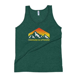 Onward and Upward Men's Tank top - Crag Life