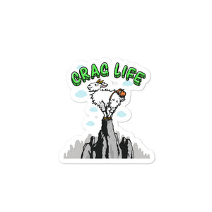 Mountain Goat Sticker - Crag Life