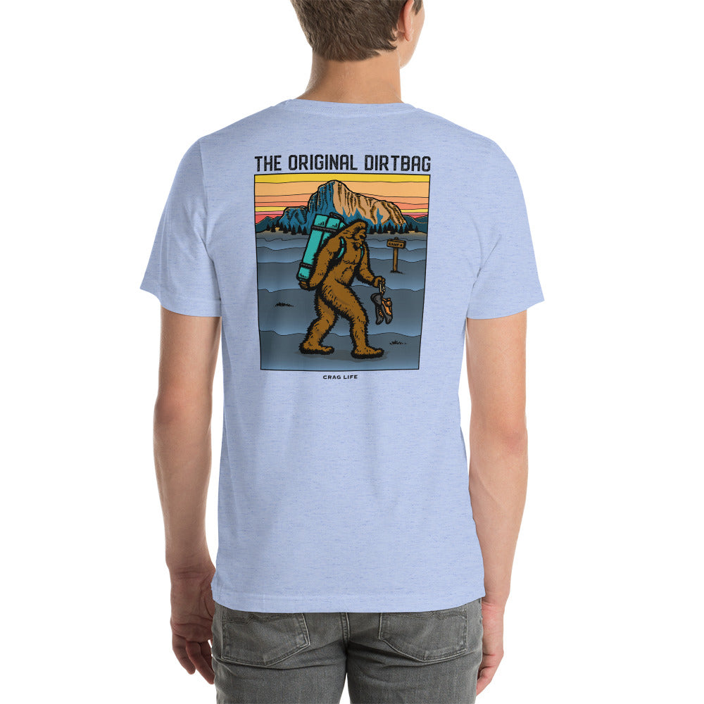 The Original Dirtbag T-Shirt - Crag Life