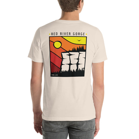Red River Gorge Short Sleeve Tee - Crag Life