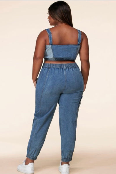 Denim Revamp 2pc set