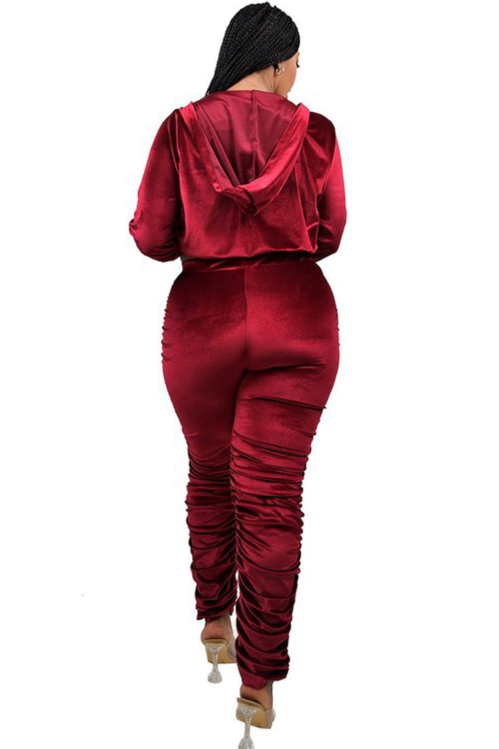 Lets Get Waisted Velour Set
