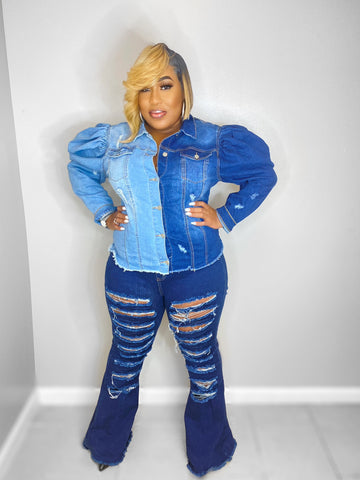 City Girls Flare Jeans