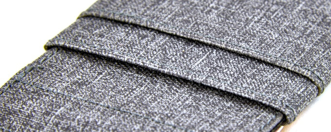 The Latcher and The Rȳd Grey Luxe Material Option