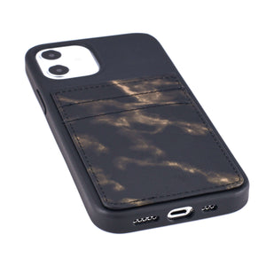 iPhone 12 and iPhone 12 Pro Marble M2T Wallet Case