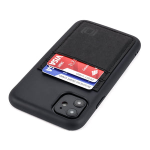 Bio M2B Wallet Case iPhone Case Dockem iPhone 11 Black & Black