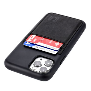 Bio M2B Wallet Case iPhone Case Dockem iPhone 11 Pro Black & Black