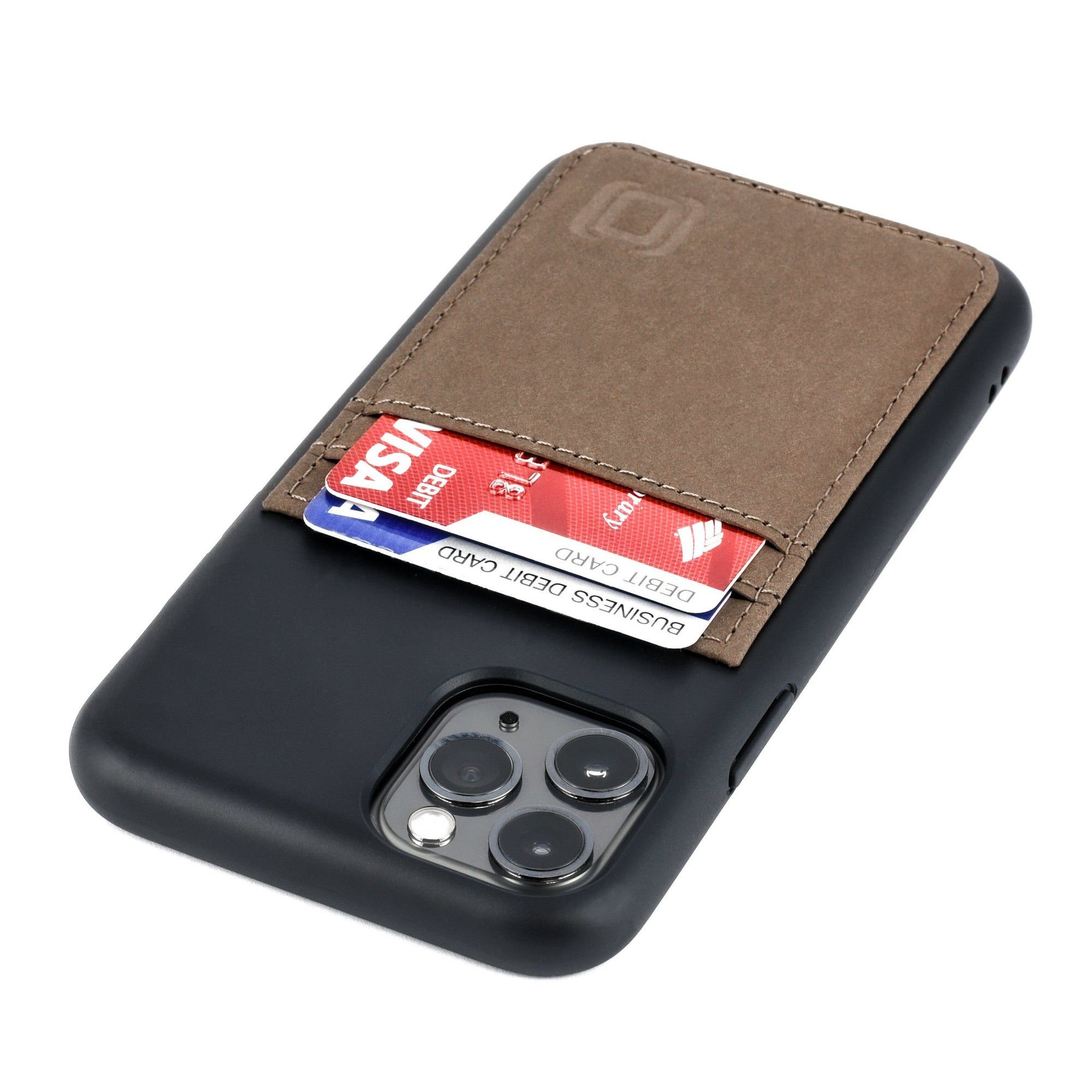 Bio M2B Wallet Case iPhone Case Dockem iPhone 11 Pro Black & Tan