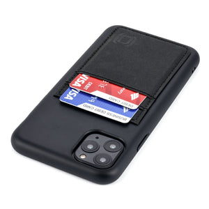 Bio M2B Wallet Case iPhone Case Dockem iPhone 11 Pro Max Black & Black