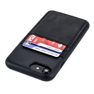 Bio M2B Wallet Case iPhone Case Dockem iPhone SE 2 Black & Black
