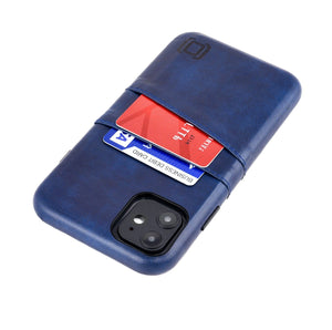 Exec M2 Wallet Case iPhone Case Dockem iPhone 11 Navy Yes