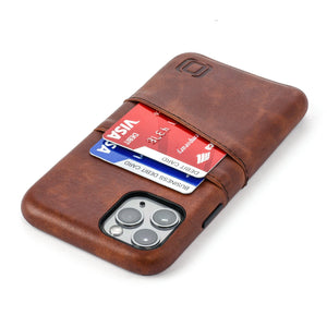 Exec M2 Wallet Case iPhone Case Dockem iPhone 11 Pro Brown Yes