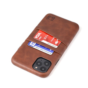 Exec M2 Wallet Case iPhone Case Dockem iPhone 11 Pro Max Brown Yes