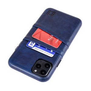 Exec M2 Wallet Case iPhone Case Dockem iPhone 11 Pro Max Navy Yes
