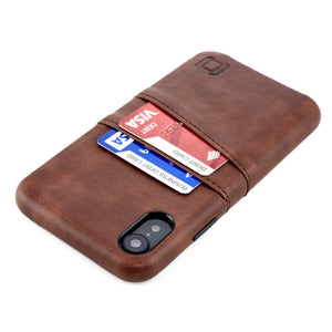 Exec M2 Wallet Case iPhone Case Dockem iPhone XR Brown Yes