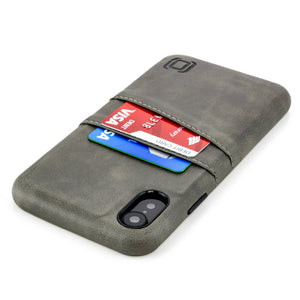 Exec M2 Wallet Case iPhone Case Dockem iPhone XR Grey Yes
