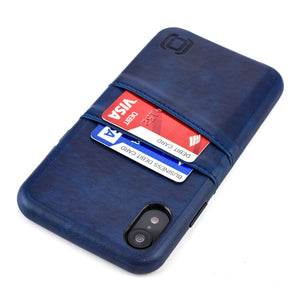 Exec M2 Wallet Case iPhone Case Dockem iPhone XR Navy Yes