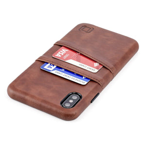 Exec M2 Wallet Case iPhone Case Dockem iPhone XS Max Brown Yes